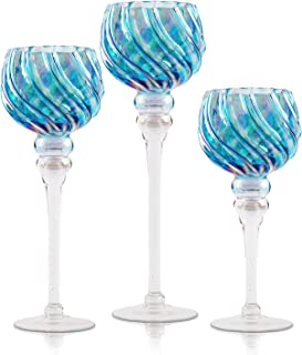 Best extra large pillar candle holders Reviews
