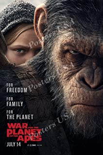Best war for the planet of the apes movie poster Reviews