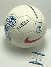 Thierry Henry Signed Nike 'France' Soccer Ball Beckett BAS B55757 - Beckett Authentication - Autographed Soccer Balls