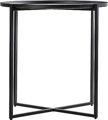 Frank Hudson Balotra Coffee Table, Black, 610 x 610 x 585mm