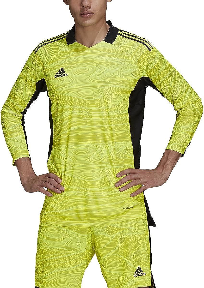 Amazon.com: adidas Condivo 21 Goalkeeper Long-Sleeve Jersey Acid ...