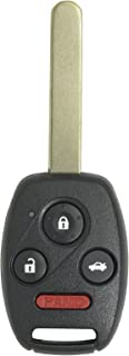 Keyless2Go Keyless Entry Car Key Replacement for Vehicles That Use 4 Button N5F-S0084A