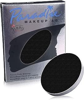 Mehron Makeup Paradise Makeup AQ Refill (.25 oz) (BLACK)