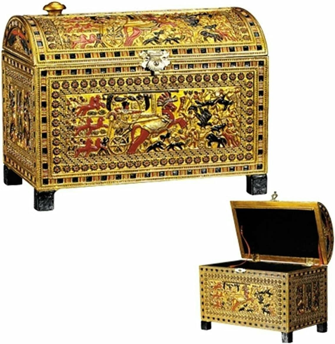 The Decor San Francisco Mall That is Adored Egyptian TUT Jewelry Max 78% OFF Scene King Chariot