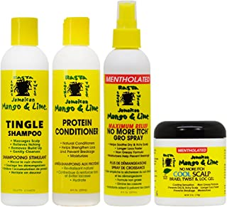 Jamaican Mango & Lime Cooling Scalp Care 4-piece