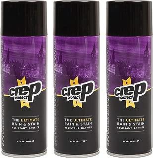 Crep Protect クレッププロテクト 3本セット クレップ 防水スプレー 靴 スニーカー スエード 革 シューズ用防水スプレー シューズケア 撥水 6065-29040