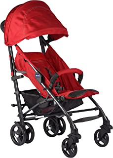 Chicco LITE WAY 3 TOP STROLLER BB RED BERRY