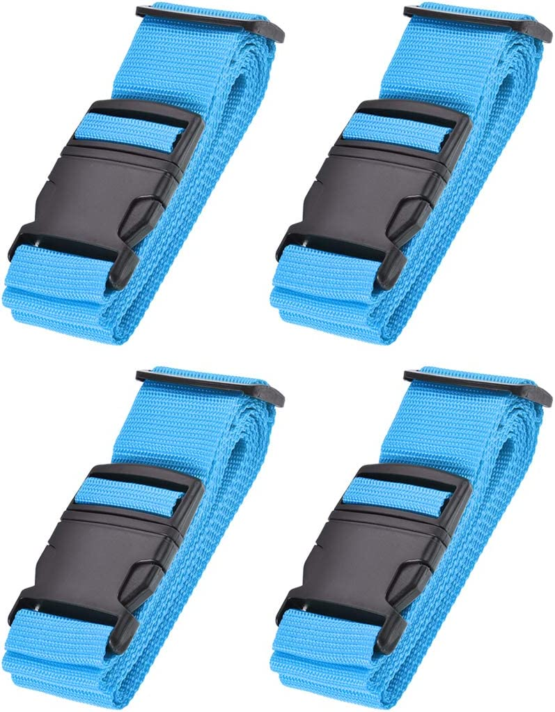 uxcell Luggage Straps Suitcase Belts 2Mx5cm A 5 ☆ very popular with Buckle Regular dealer Label
