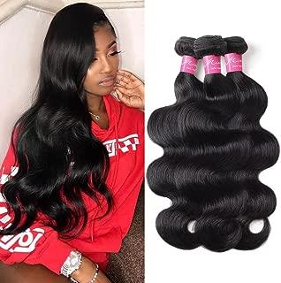 Mink Hair 8A Brazilian Virgin Hair Body Wave Hair Bundles (28