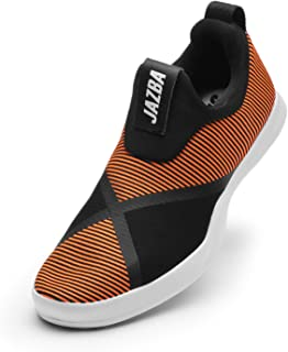 Jazba Shoes for Men Athletic Running Wide Fit Sneakers Outdoor Loafers Walking Tennis Mesh Breathable Shoes No Slip Casual Fashion Lightweight Footwear