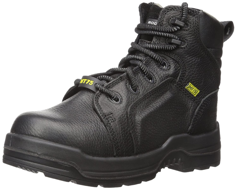 Rockport Work Women's More Energy RK465 Work Shoe, Black, 8 M US