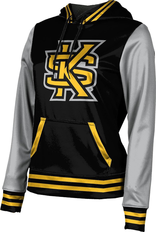 ProSphere Kennesaw State University Girls' Pullover Hoodie, School Spirit Sweatshirt (Letterman)