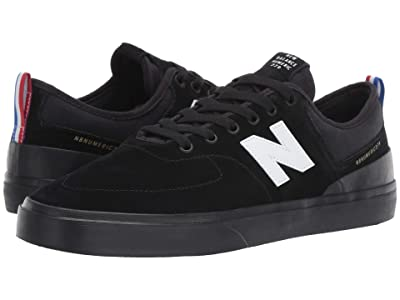 New Balance Numeric 379 (Black/White Suede) Men