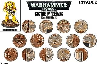 Games Workshop 32mm Sector Imperialis Bases