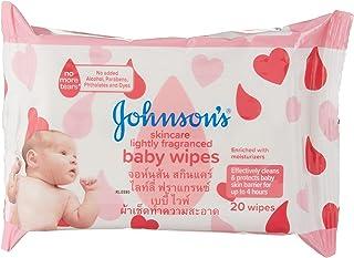 Johnson's Baby Skincare Wipes, 20ct