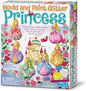 "4M ""2019"" Glitter Princess Mould and Paint - Multi-Coloured"