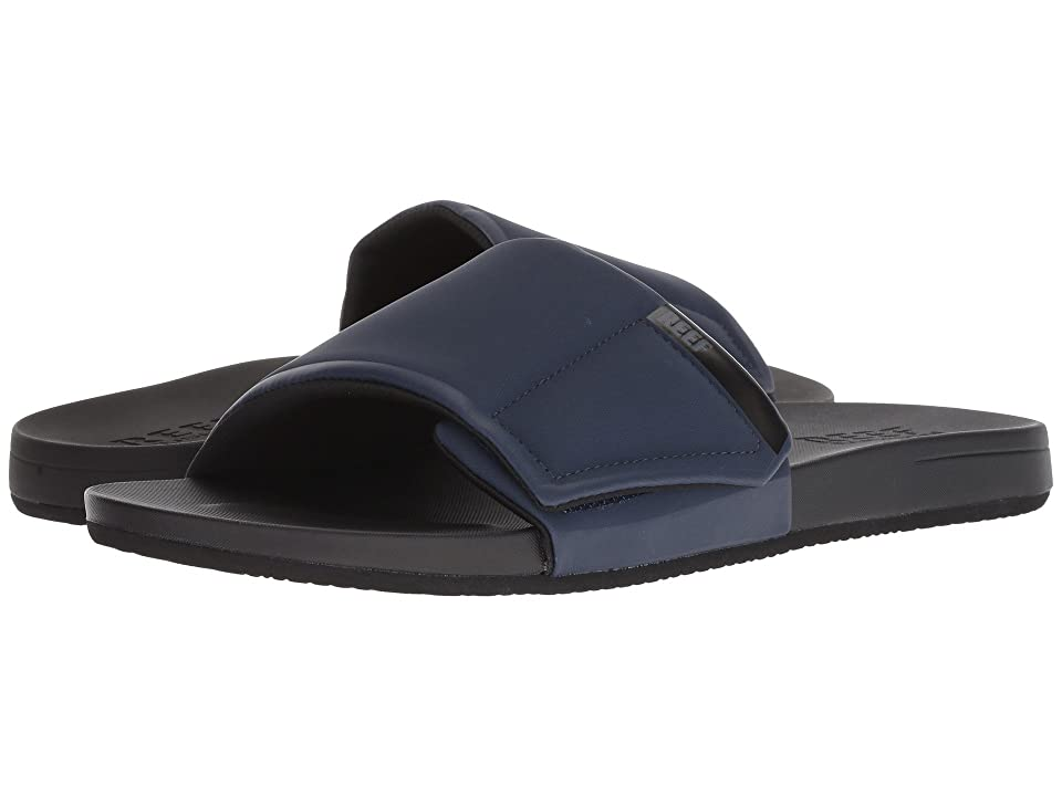 Reef Cushion Bounce Slide (Black/Navy) Men