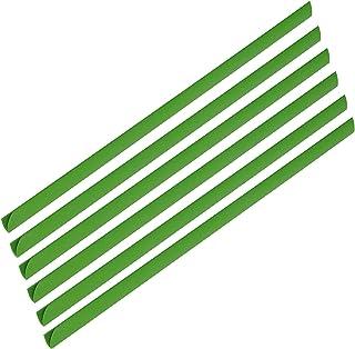 FIS Plastic Sliding Bar 3mm, 30 Sheets Capacity, Green Color, Box of 100 Pcs. - FSPG03-GR