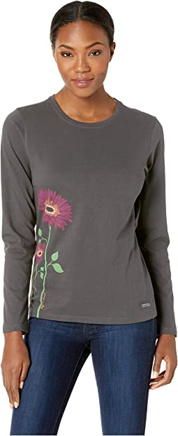 Namaste Daisies Crusher Long Sleeve T-Shirt