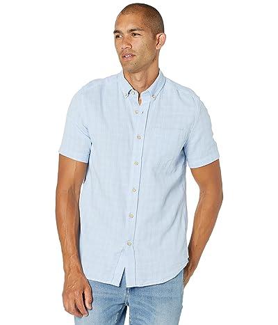 Southern Tide Glenwood Windowpane Short Sleeve Sport Shirt