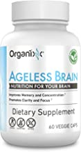 Organixx - Ageless Brain - Organically Grown Nootropic Brain Supplement - Enhanced Memory, Focus, Clarity (30 Servings)