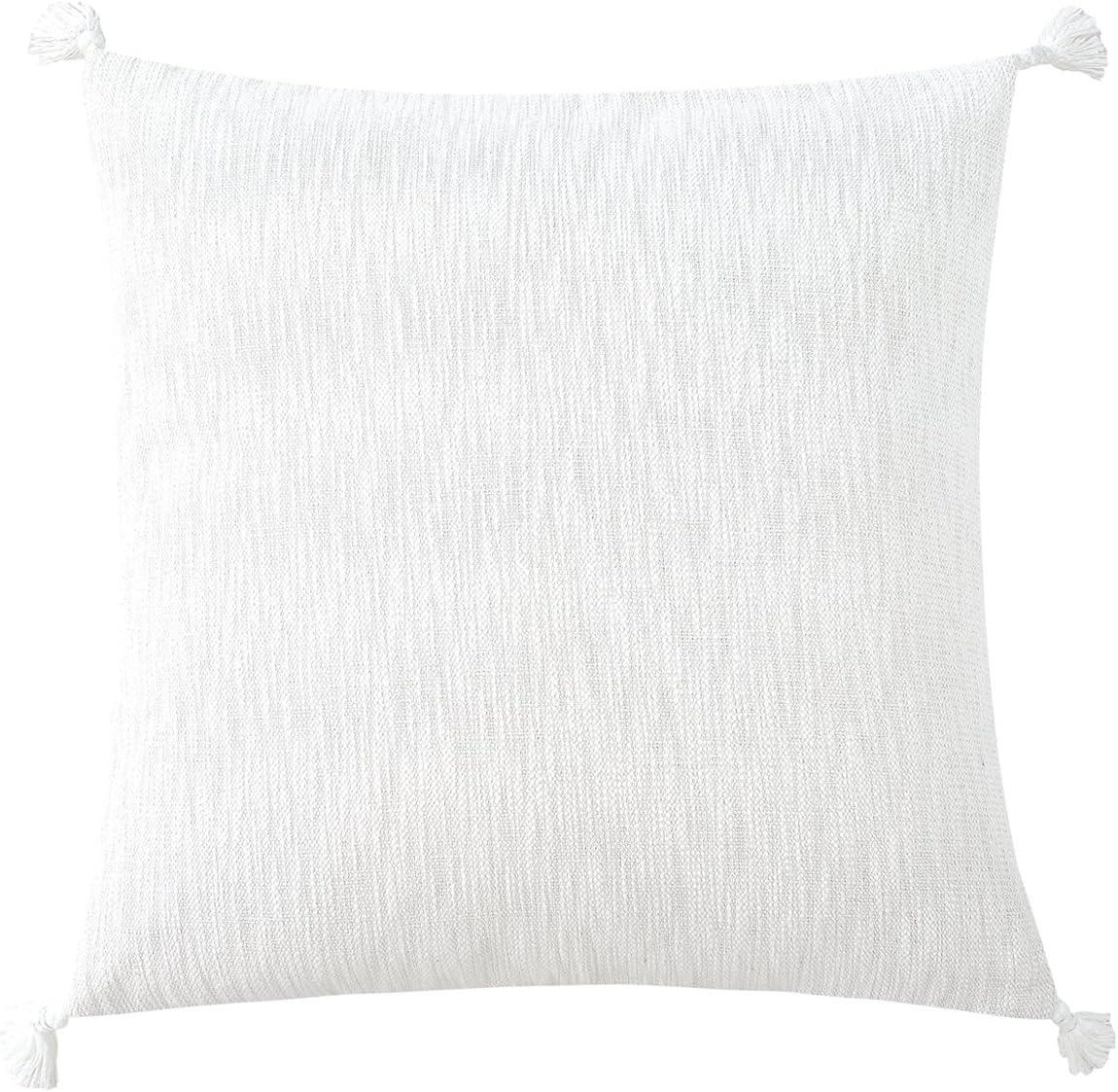 Echelon Home ◆高品質 Cotton Textured Euro with 26