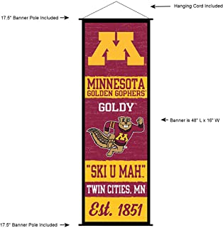 Minnesota Gophers Banner and Scroll Sign