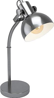 Eglo Lampe de Table Acier 28 W Nickel Antique