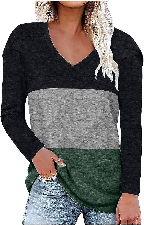 WUWUTOU Women's Long Shirts Cap Sleeve Round Neck Tunic Autumn T-Shirts Pocket Side Split Tops Loose Tee