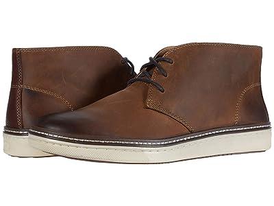 Johnston & Murphy McGuffey Chukka (Tan Oiled Full Grain Leather) Men
