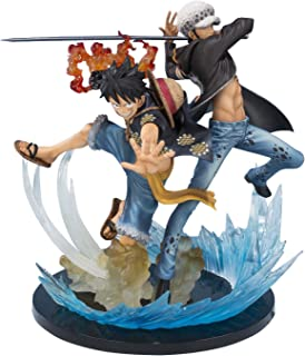 Tamashii Nations Bandai Monkey D Luffy & Trafalgar Law 5th Anniversary Edition One Piece Action Figure