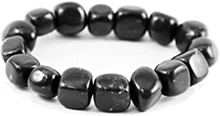 Karelian Heritage Shungite Beaded Bracelet Against EMR, EMF Protection