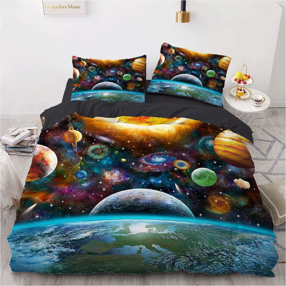 Galaxy Award Kids Bedding Sets for Boys Outer Universe Full Space Clearance SALE! Limited time! Plan