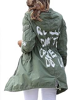 Famous Celebrity Women Green Long Jacket Coat