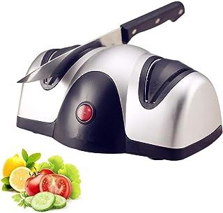 Afilador De Cuchillos Eléctrico Profesional, Cuchillos De Cocina Mejor Sistema De Afilado De 2 Etapas Para Cuchillos Afilados Y Afilados