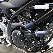 Shogun 2017 2018 2019 Suzuki SV 650 SV650 SV650X Black No Cut Frame Sliders - 750-5649 - MADE IN THE USA
