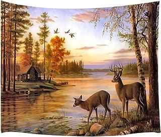 Best deer wall tapestry Reviews