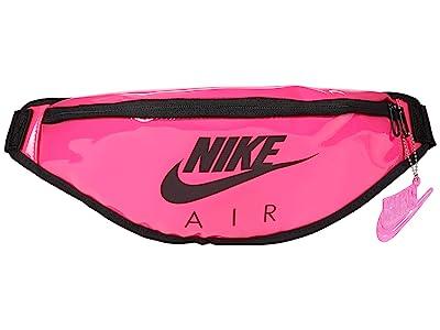 Nike Heritage Hip Pack Clear (Pink Blast/Pink Blast/Black) Handbags
