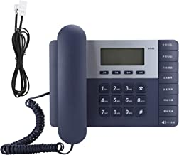 $37 » YOUTHINK Home Landline Phone Wired Telephone Desk Corded Phone for Home Office Hotel Restaurant with LCD High Definition D...