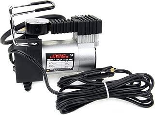 Swarim 12V - 150 PSI Electric Car Bike Metal Heavy Duty Air Compressor Pump