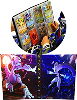 Pokemon Collection Handbook Trading Card Album GX EX TCG Game Card Professional Collection 160 Card Slot-(Mewtwo Cover)