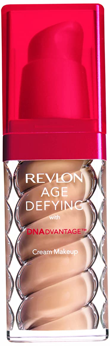 嫌なジャンプ繊細Revlon - Age Defying Fond de Teint - Flacon-Pompe 30 ml - N 25 Medium Beige