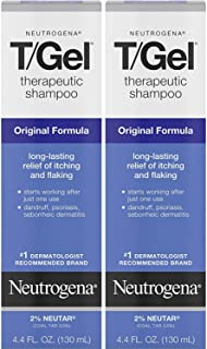 Neutrogena T/Gel Therapeutic Original Formula Shampoo, 130ml (Pack of 2)