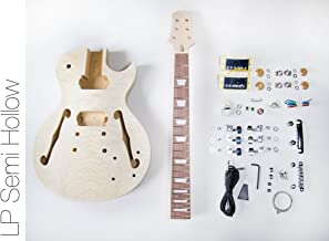 DIY Electric Guitar Kit - Singlecut Semi Hollow Build Your Own Guitar Kit