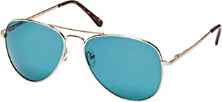 BLUE CROWN Randy Round Sunglasses, Clear
