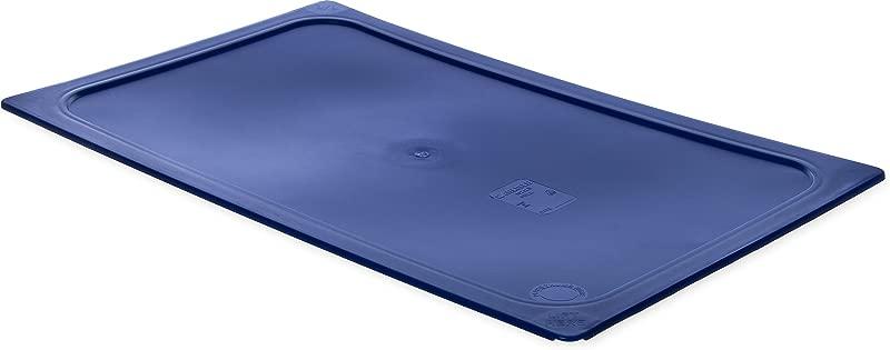 Carlisle 10212B60 Smart Lids Full Size Polyethylene Lid Dark Blue