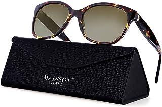 Polarized Retro Sunglasses for Women, Handmade Acetate...