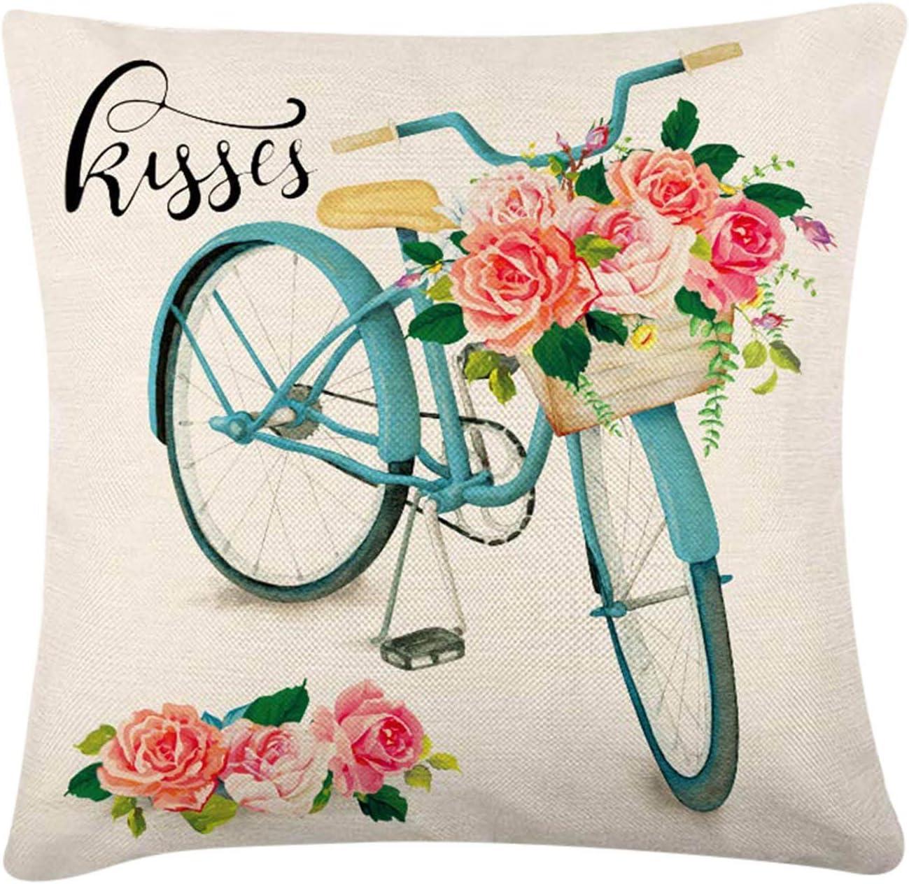 SUJIN Valentine's Pillow Case Pillowcase Sofa 18×18