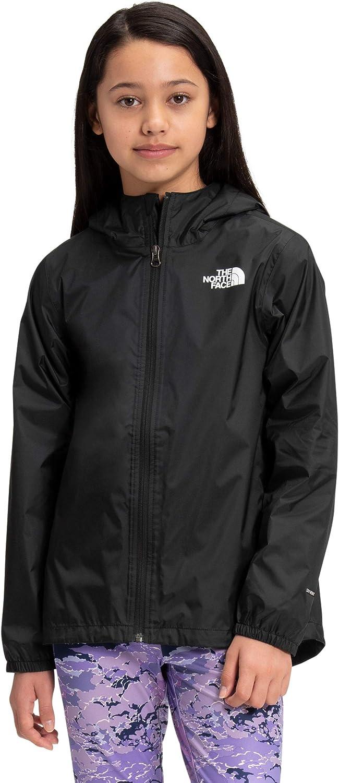 The North Face Girls' Zipline Rain Large-scale sale Black Financial sales sale TNF Jacket