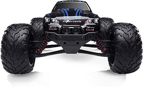 HOSIM 1 12 Skala elektrisches RC Auto Offroad 2.4Ghz 2WD hohe Geschwindigkeit 42km h ferngesteuertes Auto (Farbe  Blau)